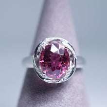 Load image into Gallery viewer, Pink Tourmaline Ring - 3.225 cts