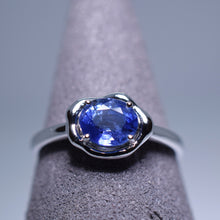 Load image into Gallery viewer, Blue Sapphire Ring - 1.128 cts