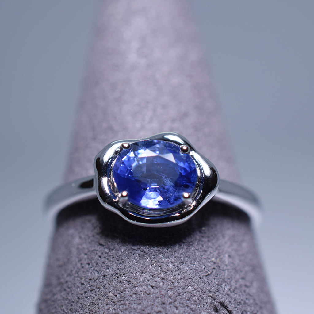 1.128ct Sapphire Ring