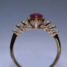 Load image into Gallery viewer, Ruby Ring - 1.24 cts Marquise