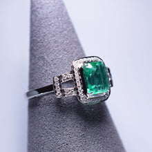 Load image into Gallery viewer, Emerald Ring - 1.203 cts