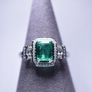 Emerald Ring - 1.203 cts
