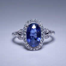 Load image into Gallery viewer, Blue Sapphire Ring - 2.81 cts