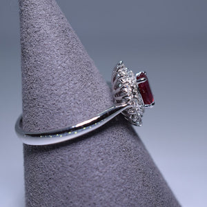 0.82ct Ruby Ring