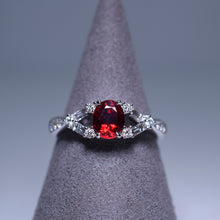 Load image into Gallery viewer, 0.845ct Ruby Ring