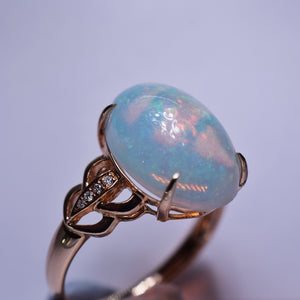 4.96ct Opal Ring