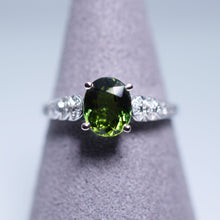 Load image into Gallery viewer, Green Tourmaline Ring - 1.276 cts