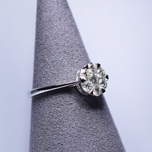 Diamond Ring - Round Cluster