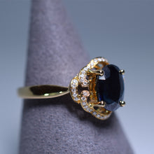 Load image into Gallery viewer, Blue Sapphire Ring - 1.695 cts