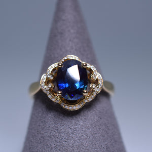 1.695ct Sapphire Ring