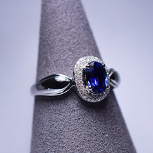 Load image into Gallery viewer, 0.628ct Sapphire Ring