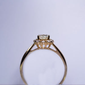 Yellow Sapphire Ring - 1.145 cts
