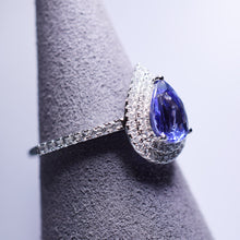 Load image into Gallery viewer, Tanzanite Ring - 1.235 cts