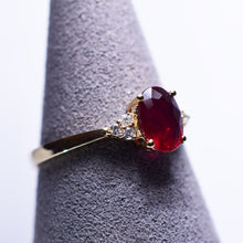 Load image into Gallery viewer, Ruby Ring - 1.1 cts
