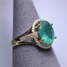 Load image into Gallery viewer, Emerald Ring - 1.96 cts