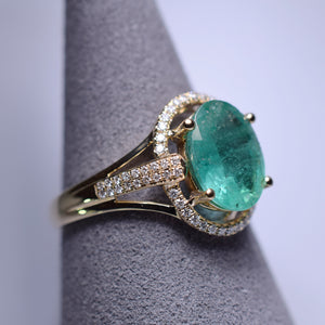 Emerald Ring - 1.96 cts
