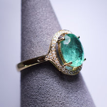 Load image into Gallery viewer, Emerald Ring - 2 cts