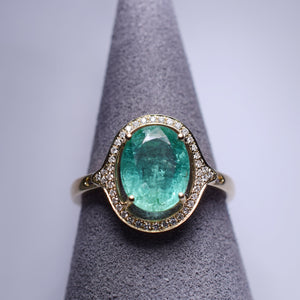 Emerald Ring - 2 cts
