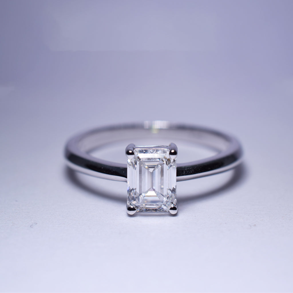 Diamond Ring - Solitaire G VS1 - 1 ct