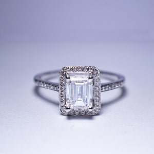 Diamond Ring - Halo G VS1