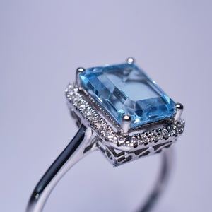 Topaz Ring - 2.75 cts