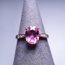 Load image into Gallery viewer, 1.44ct Pink Tourmaline Ring