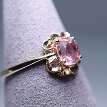 Load image into Gallery viewer, 0.92ct Pink Tourmaline Ring