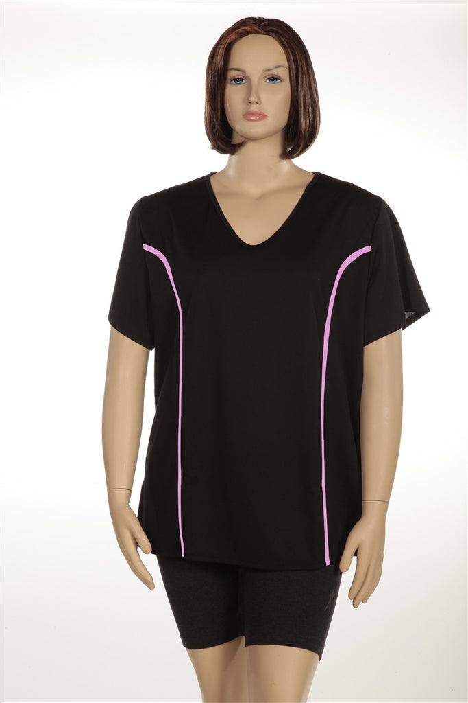 Plus Size Airlight Sport Tee - Lipedema Products