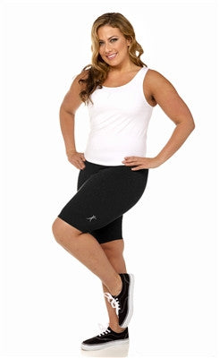 Clearance High Waist Compression Shorts Wear ease Plus size