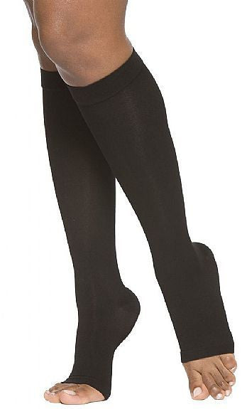 Select Comfort Knee Highs  20/30 without Silicone Band - Lipedema Products