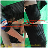 Thigh wrap Short stretch velcro elastic