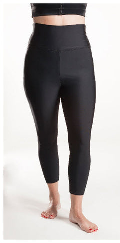Clearance BioFlect® Pro Leggings with open crotch and hook and eye.