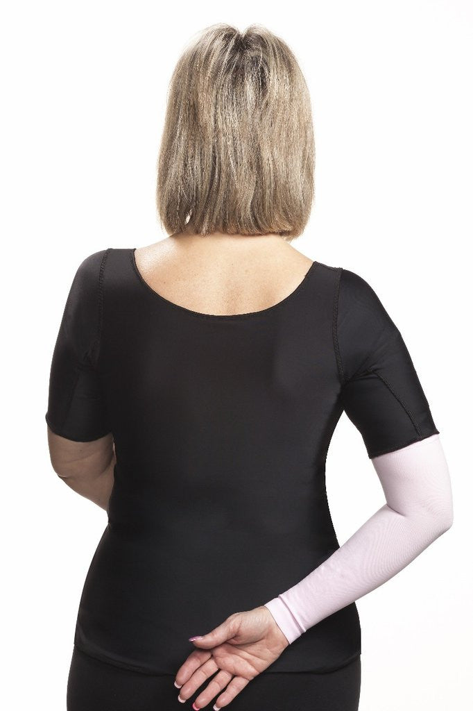 Wear Ease Compression Shirt Short Sleeve - Lipedema Products