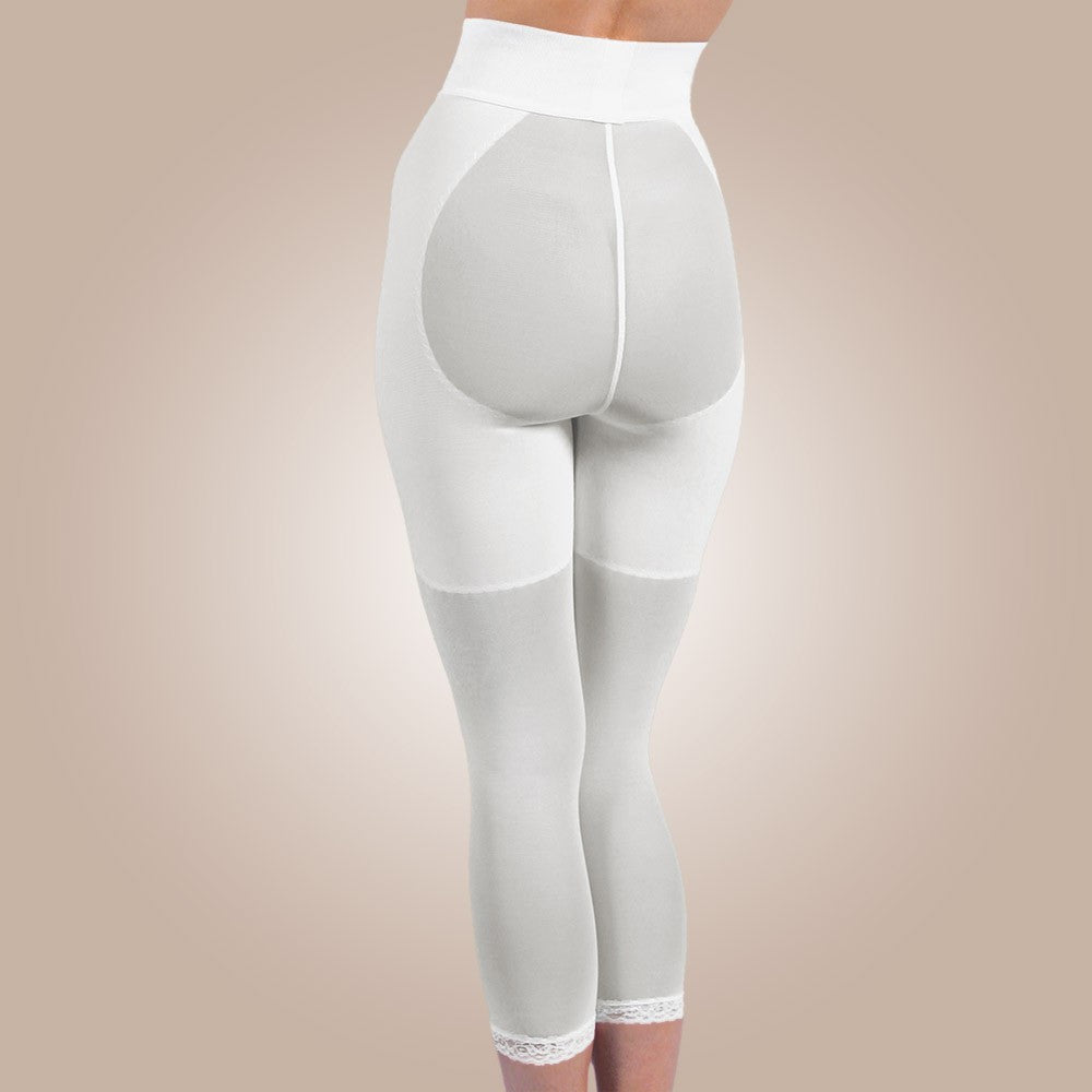 Design Veronique - Non-Zippered Below-Knee Leggings - Lipedema Products