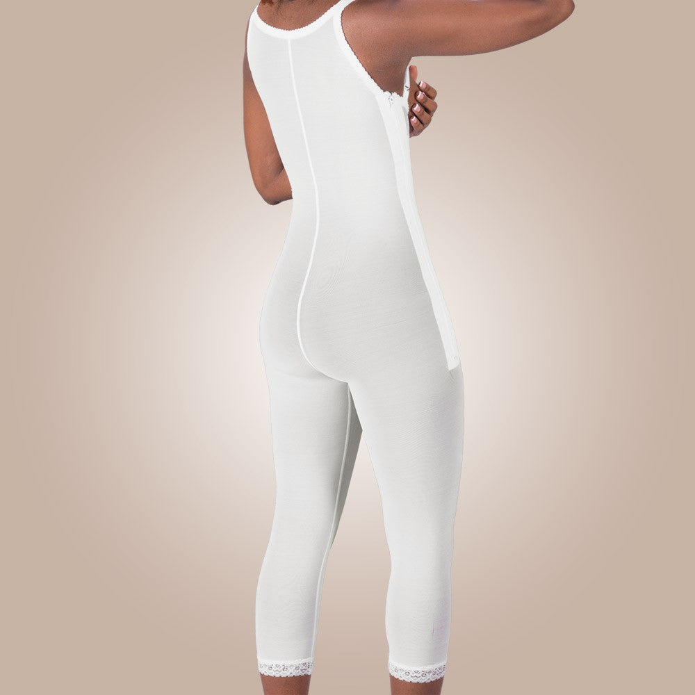Design Veronique - Zippered High-Back Full Body Leggings - Lipedema Products