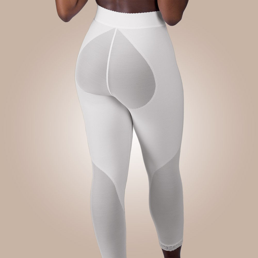 Design Veronique - Zippered Rubenesque Leggings - Lipedema Products