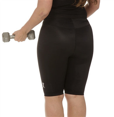 High Waist Compression Shorts Wear ease Plus size