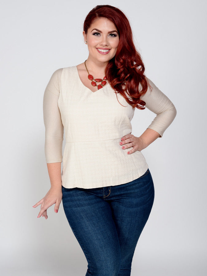 Sleevey Wonder Jersey Knit Quarter Sleeve - Lipedema Products