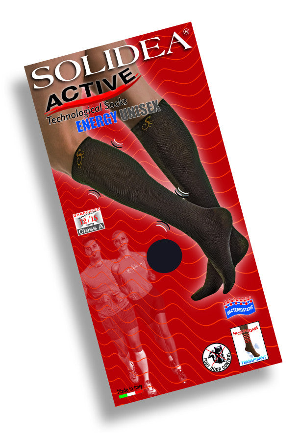 Solidea - Micro Massage Advanced Compression Socks - Knee-High (12/15 mmHg) - Lipedema Products