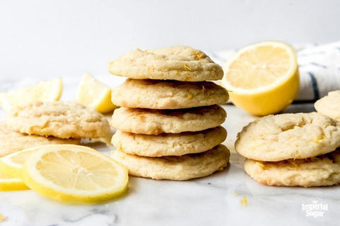 White Chocolate and Lemon Olive Oil Cookies
