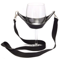 Wine Glass Cradle™ Lanyard/Holder