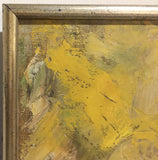 Mid Century Oil Painting, Signed Wernersbach