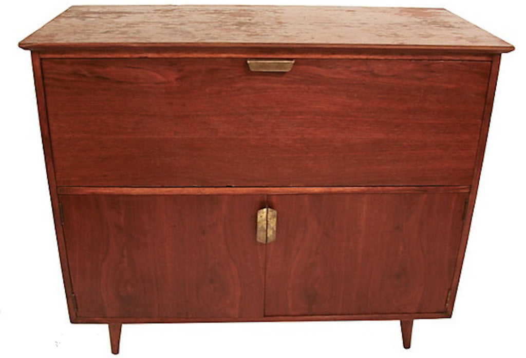 Mid Century Bar Cabinet Reposed Ny Vintage And Antique Home Decor