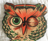 Mid Century Owl Wall Decor