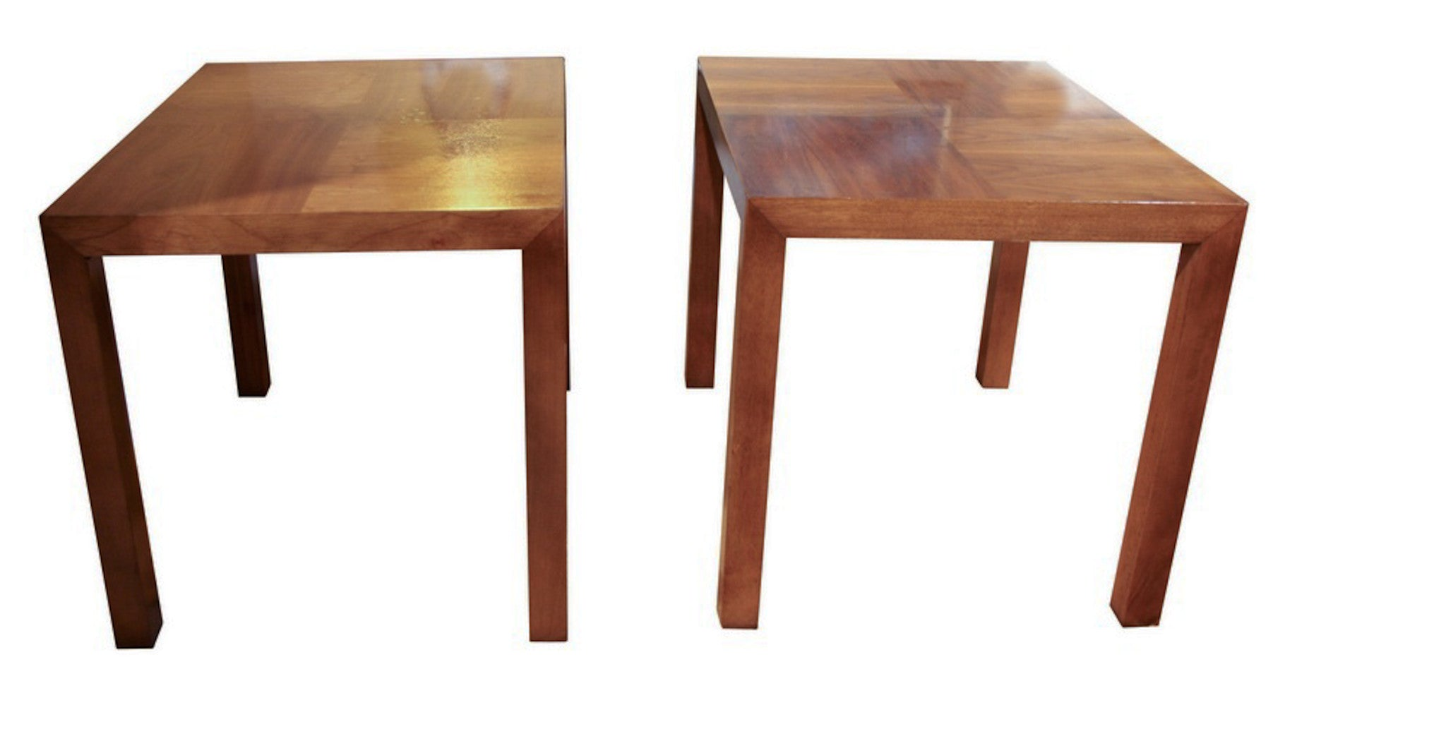 Mid century Lane parsons style side tables