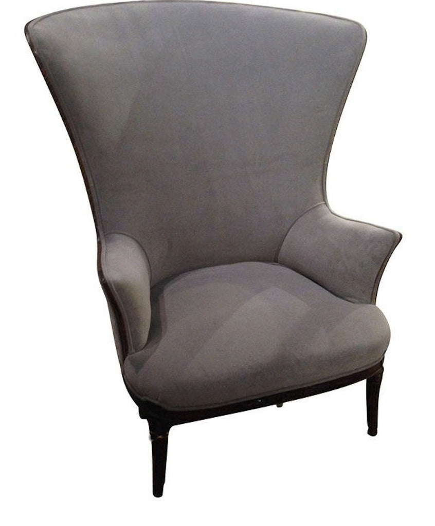 1930 S Butterfly Wing Back Chair New Upholstery