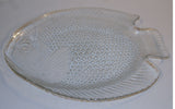 Mid Century Set - Fish Platter and Serving Plates