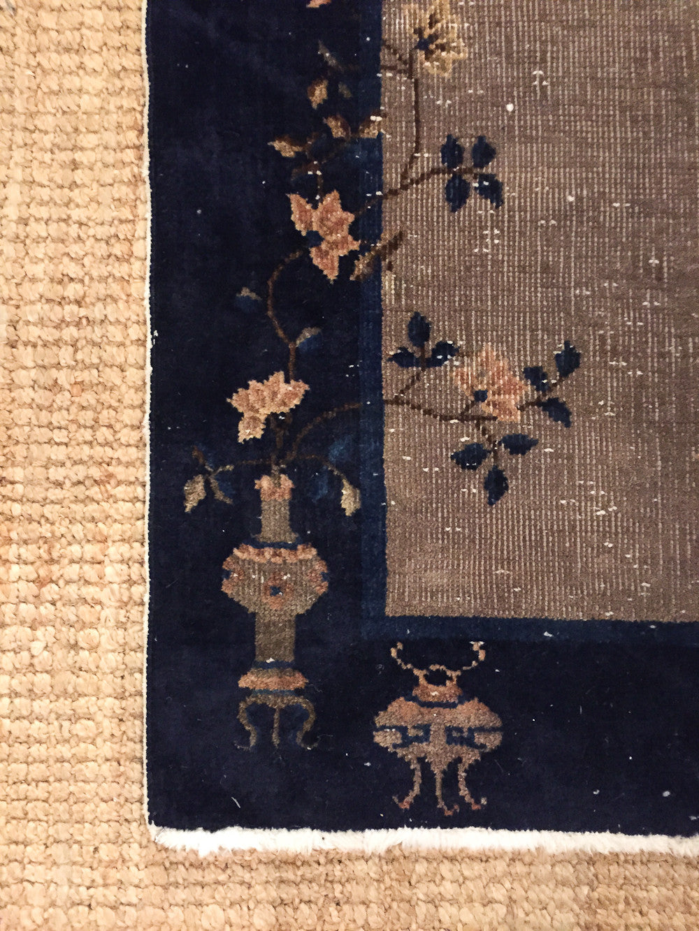 Early Chinese Art Deco Rug