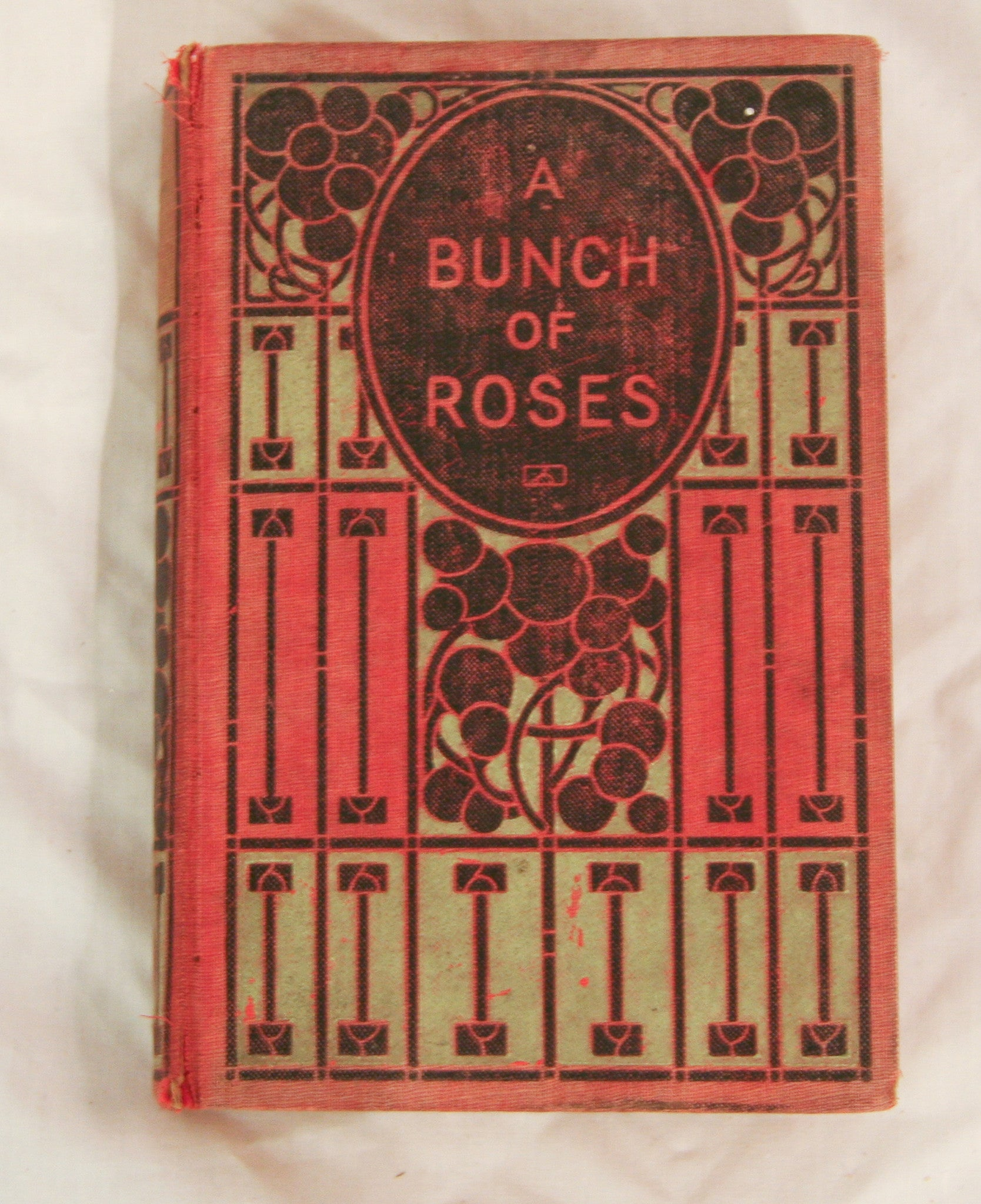 Antique Art Nouveau Bunch of Roses - Decorative Book