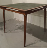 Mid Century Game Table, Card Table